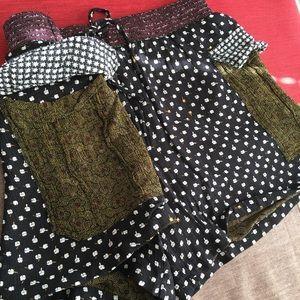 Scotch & Soda Shorts - Scotch & Soda Navy Poppy Flower Lightweight Shorts